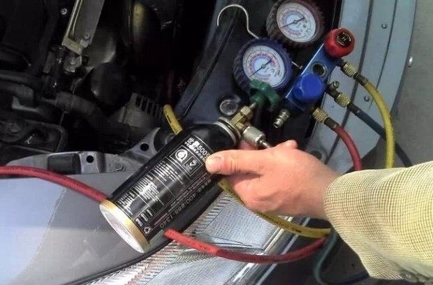 若有,检查压力开关的信号电压是否进入pcm(参见空调系统电路图).